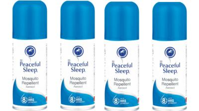 Peaceful Sleep Insect Repellent 85ml 4-Pack