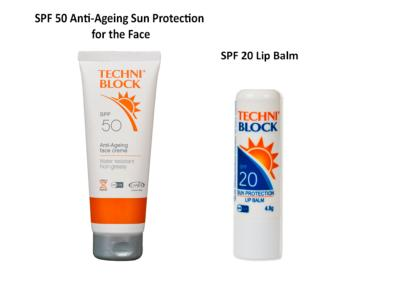 SPF 50 Anti-Ageing Face Protection & SPF 20 Lip Balm