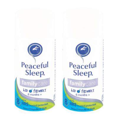 Peaceful Sleep Family Care Insect Repellent Stick 30g Twin