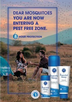 Best insect repellent - Peaceful Sleep from Techniblock