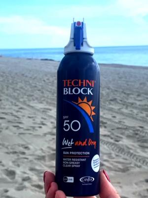 Melting in Miami, but Techniblock Wet & Dry helped us keep our cool!