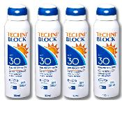 Techniblock® SPF 30 Sunscreen 150ml x 4