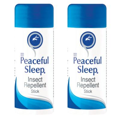 Peaceful Sleep Insect Repellent Stick 30g Twin Pack