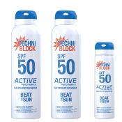Techniblock® SPF 50 Active Performance 150ml x 2 + a free 75ml