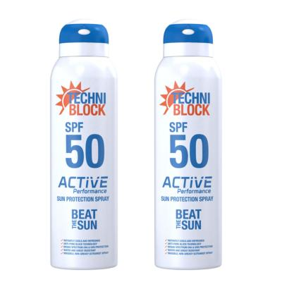 Techniblock® SPF 50  Active Performance 75ml x 2