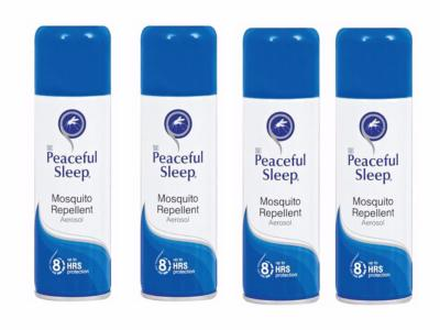 Peaceful Sleep Insect Repellent 150ml 4-Pack