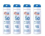 Techniblock® SPF 50  Active Performance 75ml x 4