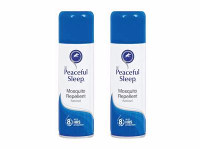 Peaceful Sleep Insect Repellent Twin-Pack