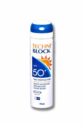 Techniblock® SPF50+ Sunscreen 75ml