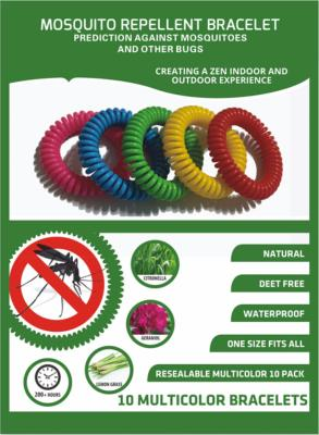 Natural Deet Free Anti Mosquito Bands From Techniblock