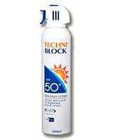 Techniblock SPF50+ Sunscreen Aerosol 340ml