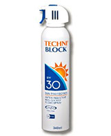 Techniblock SPF30 Sunscreen Aerosol 340ml